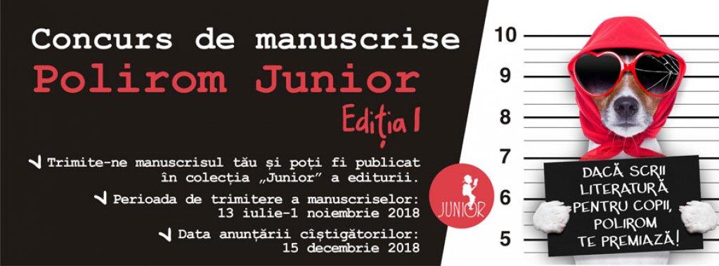 Concurs de manuscrise Polirom Junior, ediția I