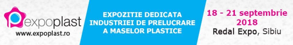 Pe 18 septembrie incepe EXPO PLAST – singurul eveniment din Romania dedicat industriei maselor plastice