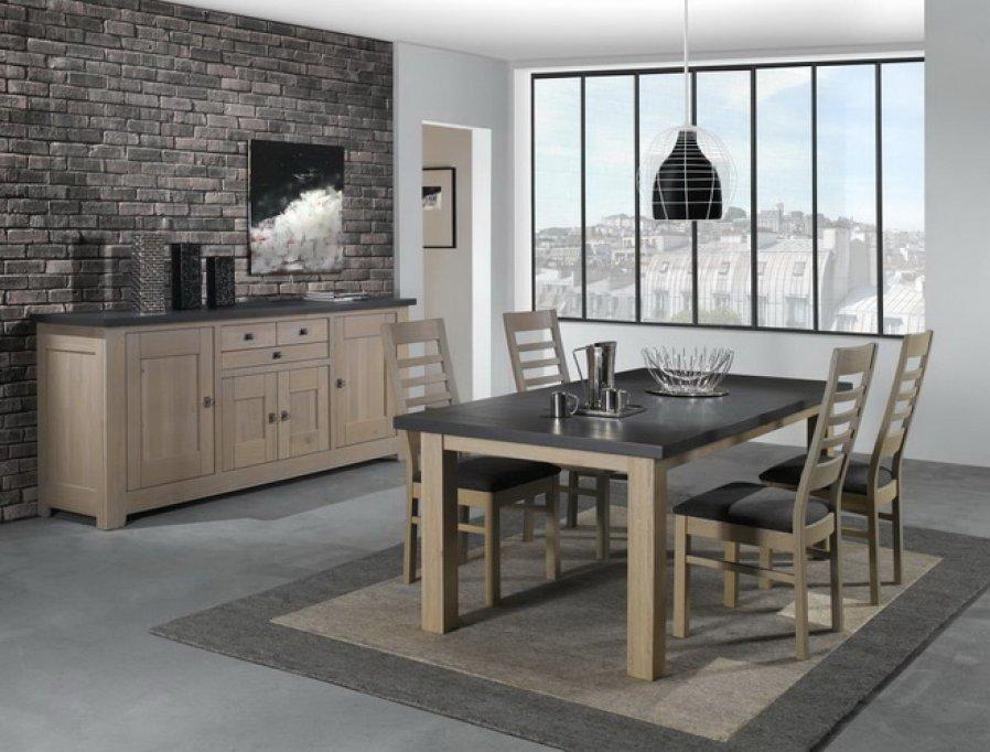 Frumusețea mobilierului din lemn masiv de stejar