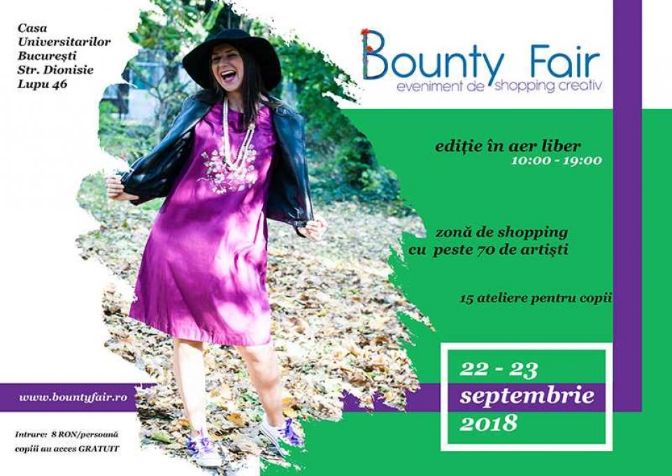 Bounty Fair #37 – Shopping creativ de toamnă