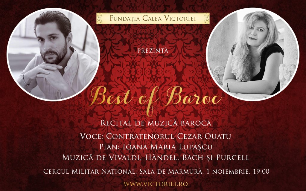 BEST of BAROC - Recital Cezar Ouatu și Ioana Maria Lupașcu