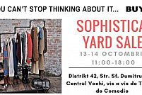 Sophisticat weekend Yard Sale