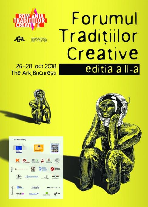 Forumul Tradițiilor Creative, ediția a II-a, are loc în weekend la The Ark, București