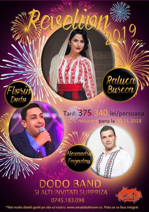Revelion 2019 la Amada Ballroom Bucuresti