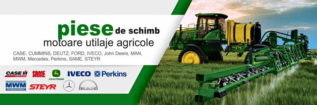 Ai nevoie de piese de schimb pentru utilajele agricole?