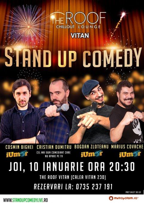 STAND-UP COMEDY JOI 10 IANUARIE 2019 BUCURESTI
