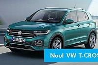 SUV-ul VW T-Cross - ideal pentru familia urbana