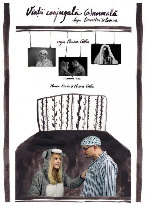 """Comedia """"Viață conjugală (a)normală"""""""