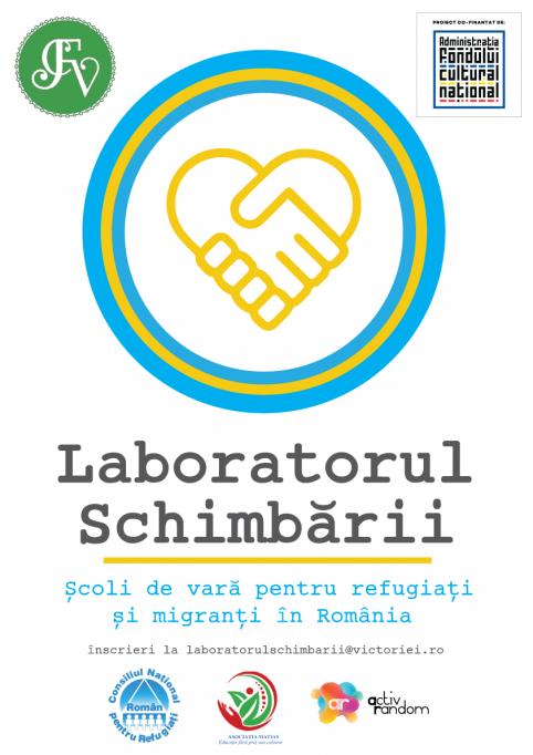 Laboratorul schimbării – cursuri și tururi gratuite pentru migranți