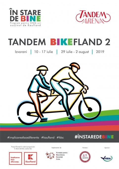 Tandem BikeFland a ajuns la cea de-a doua editie