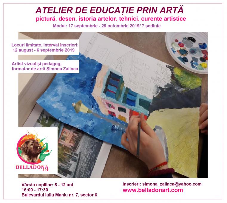 Atelier de Educatie prin Arta