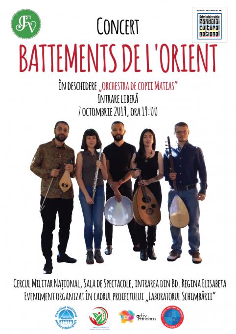 Concert gratuit – Battements de l'orient și Orchestra Matias