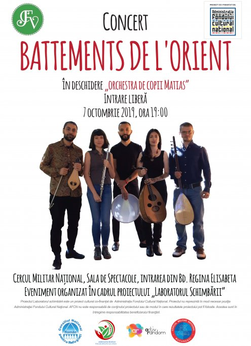 Concert Battements de l'orient și Orchestra Matias