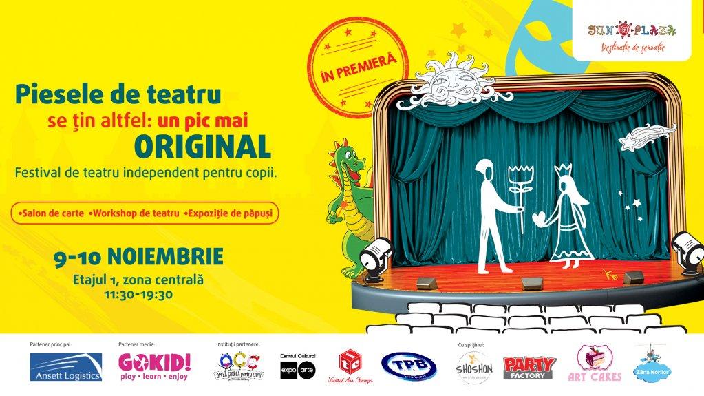 Povești de festival - Primul festival de teatru independent pentru copii