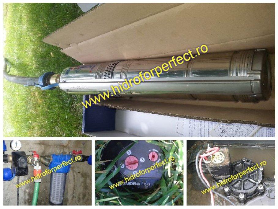Service, montaj si reglaj hidrofor Bucuresti - Ilfov