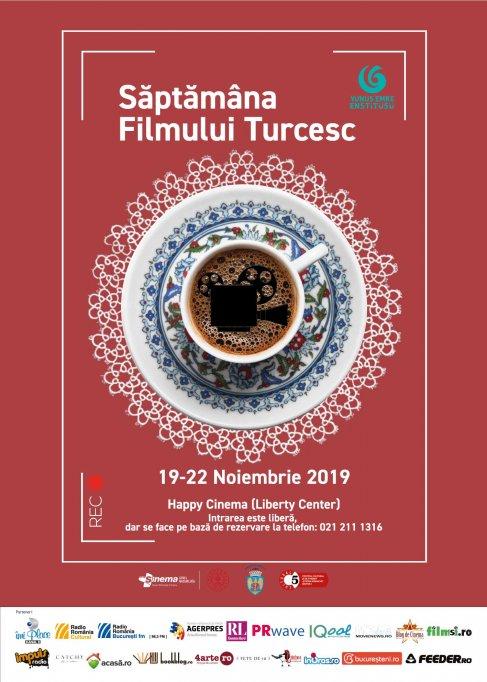 Saptamana Filmului Turcesc la Bucuresti, intre 19 – 22 noiembrie