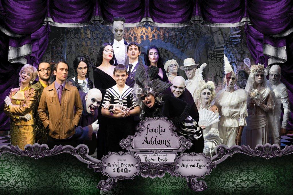 Spectacolul Familia Addams