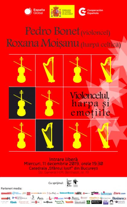 """""""Violoncelul, harpa şi emoţiile"""""""
