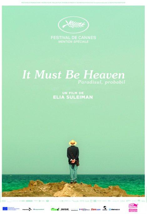 """Comedia """"Paradisul, probabil"""" / """"It Must Be Heaven"""" din ianuarie în cinema"""