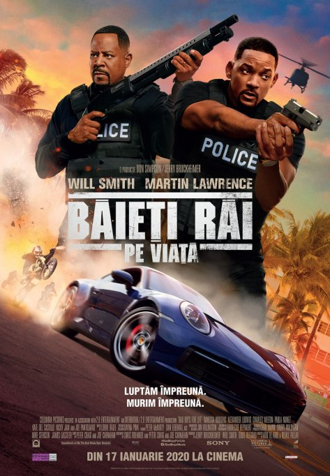 "Will Smith și Martin Lawrence sunt ""Băieți răi pe viață"""