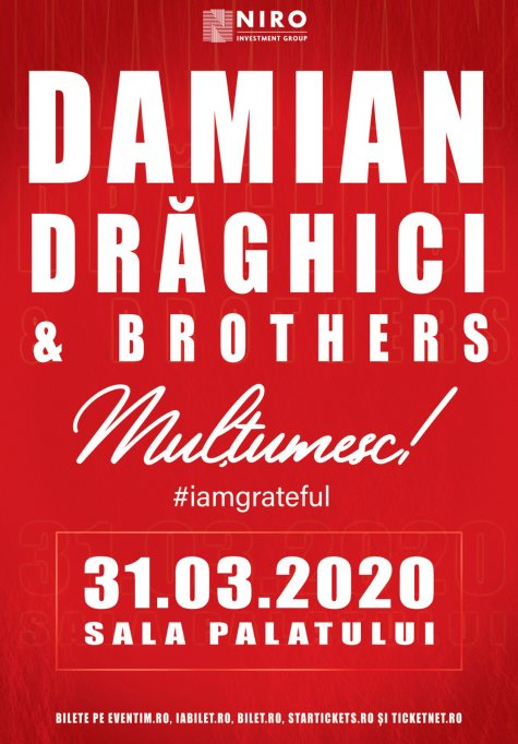 Concert Damian Draghici & Brothers