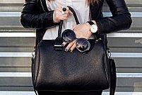 TOP 4 tinute la care poti purta o geanta neagra!