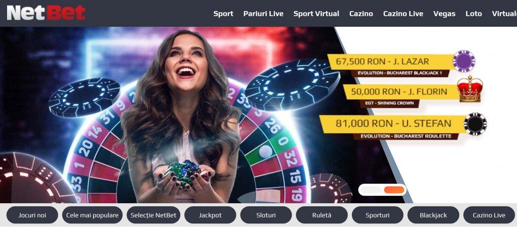 NetBet, singurul cazino online din România care oferă jackpot global