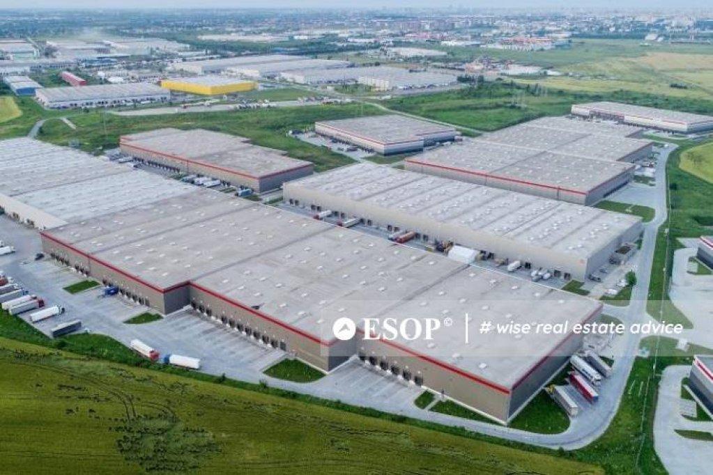 Inchiriere Depozit Chiajna Clasa P3 Logistic Park