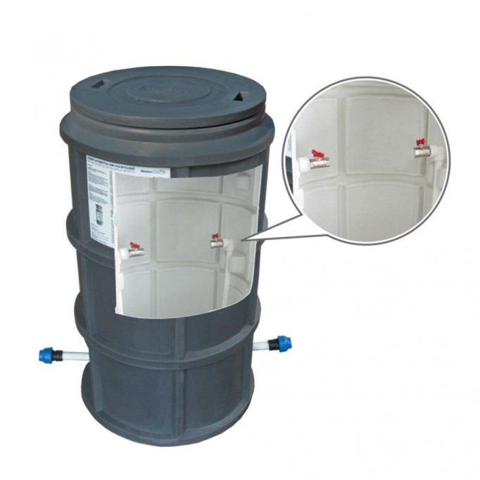 Caminul de bransament pentru apa potabila si apometrul utilizat
