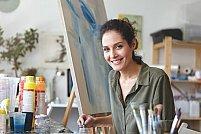 Atelier online de terapie prin artă