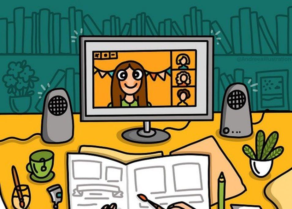 Atelier online de Jurnal ilustrat – Storytelling prin imagini