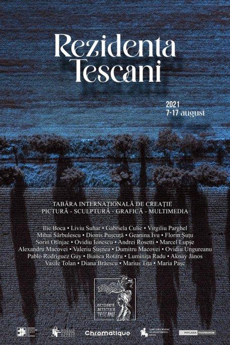 """Tabăra Internațională de Creație """"Rezidența Tescani""""."""