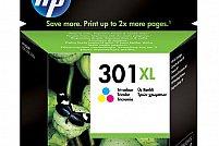 Cartuse de cerneala Twin Pack Color NR.301XL la preturi de vara