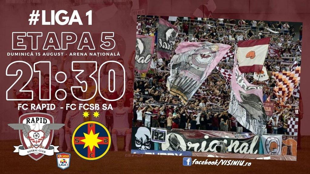 FC Rapid Bucuresti - FCSB