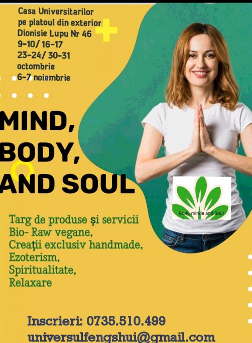 MIND-BODY AND SOUL