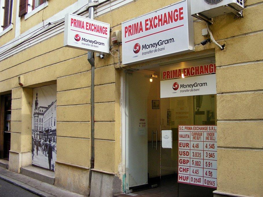 Casa de schimb valutar Prima Exchange
