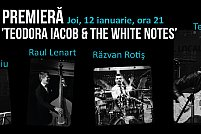 Teatru de Club PREMIERĂ - Teodora Iacob & The White Notes