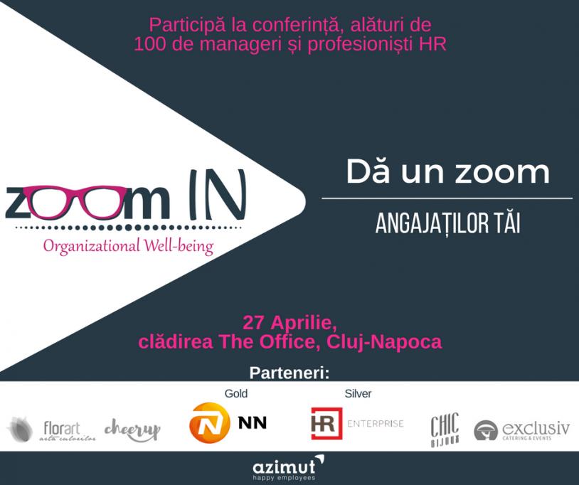 Conferința Zoom IN