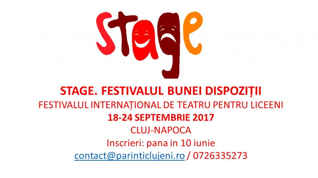 Festivalul STAGE a primit distinctia EFFE LABEL 2017-2018