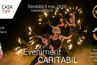 Eveniment caritabil - Fire dance, seara jazz, caricaturi, DJ-set