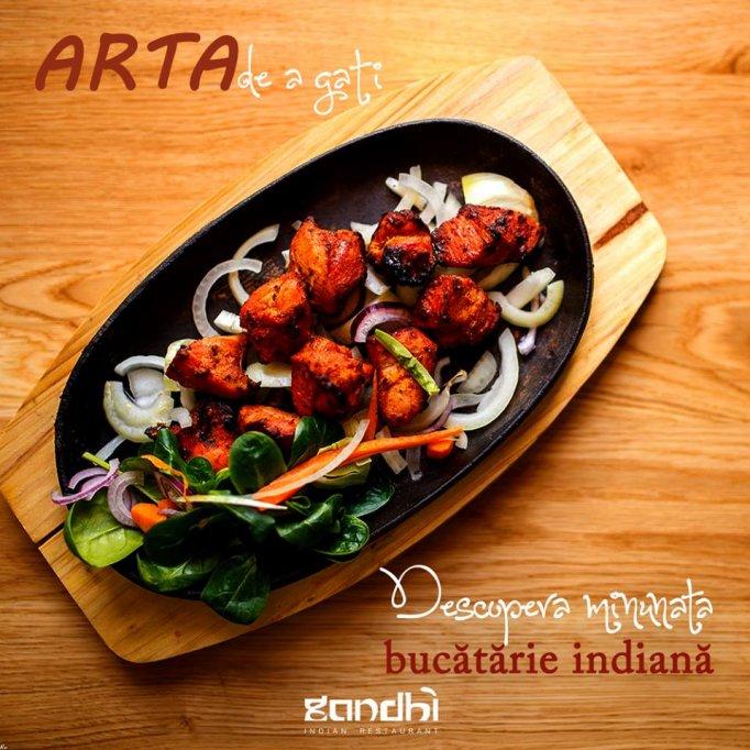 Restaurant Gandhi cu specific indian te invita la masa