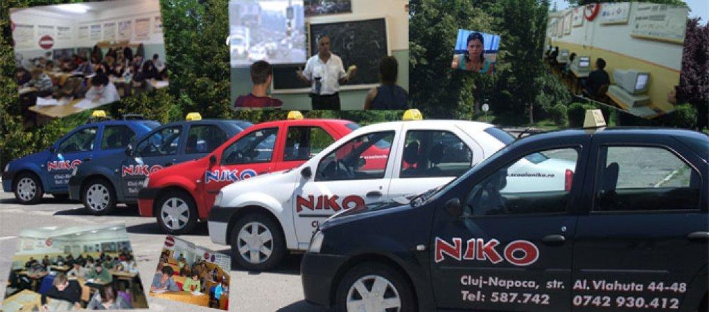 Niko - Scoala de soferi in Cluj