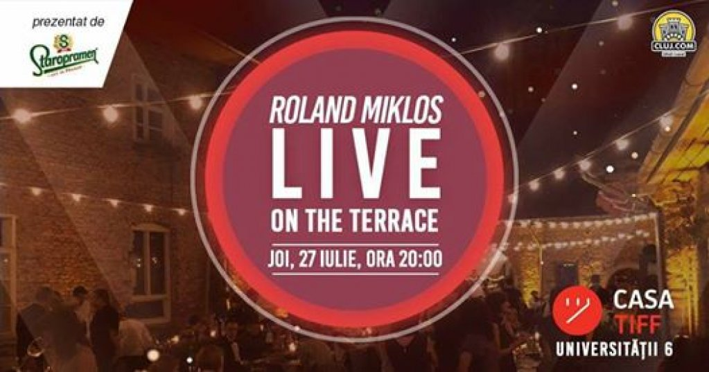 Roland Miklos LIVE on the Terrace
