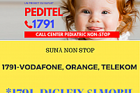 Serviciul pediatric de sfat medical non stop