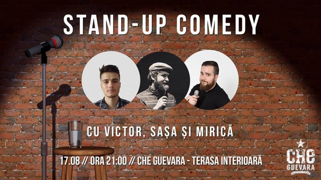Stand-up Comedy la Che Guevara Social Club