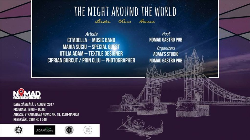 The night around the world