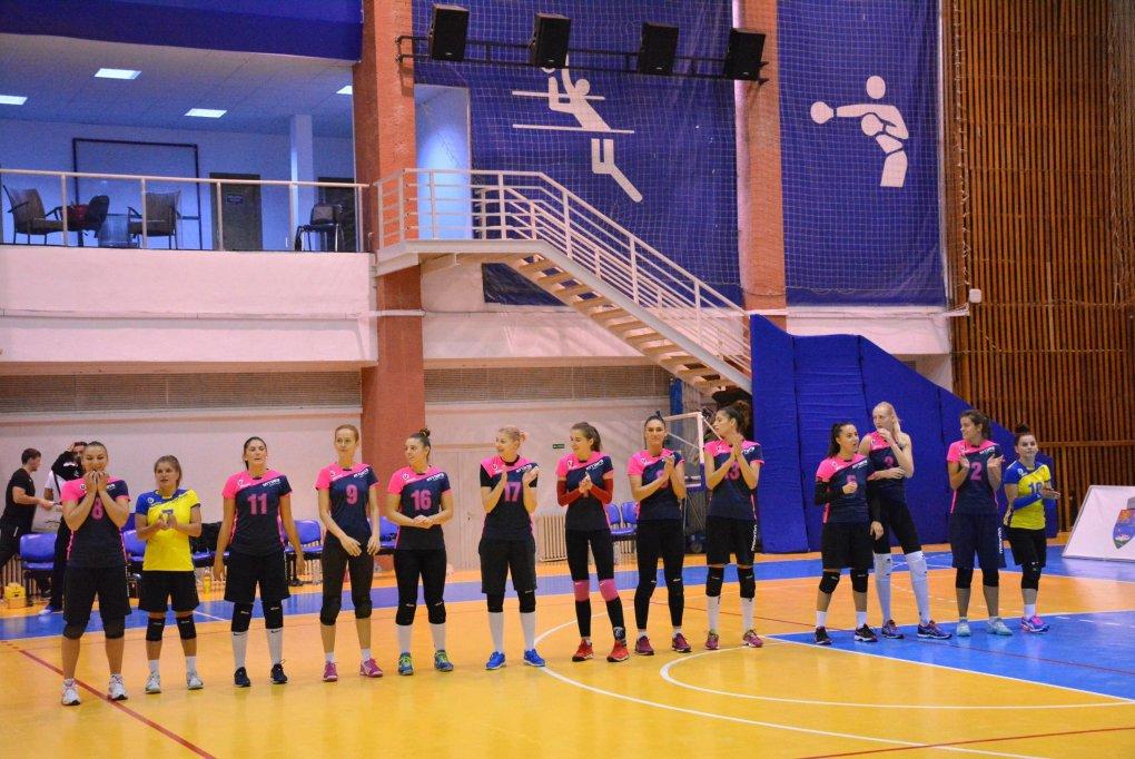 U Cluj 3-0 CSM Volei Alba Blaj