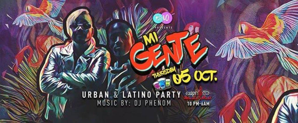 Mi Gente - Urban & Latino Party