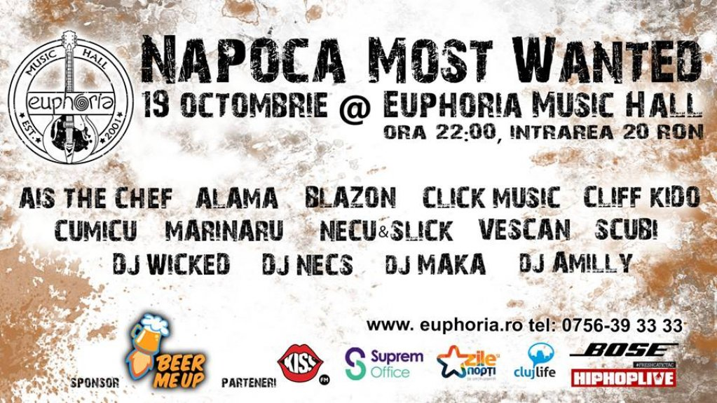 Napoca Most Wanted