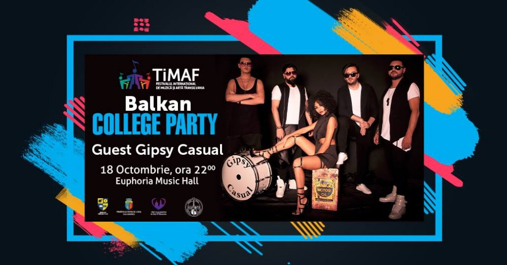 Balkan College Party with Gipsy Casual